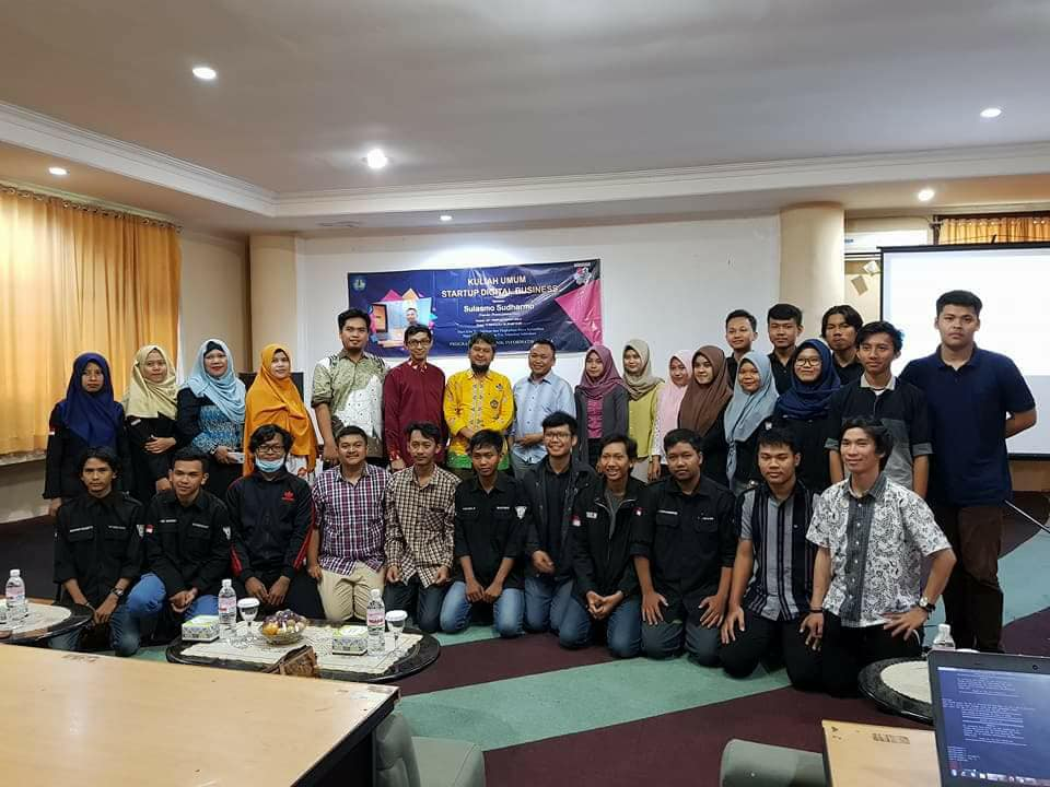 "Kuliah Umum PS Teknik Informatika ""Start Up Digital"""