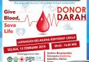 Kegiatan Donor Darah KSR Unila