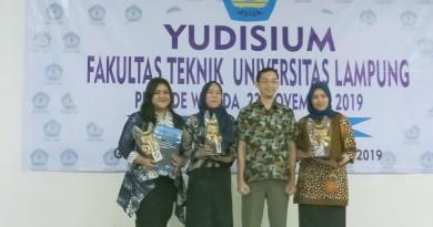 Selamat dan Sukses kepada para Wisudawan Program Studi Teknik Informatika Universitas Lampung Periode November 2019