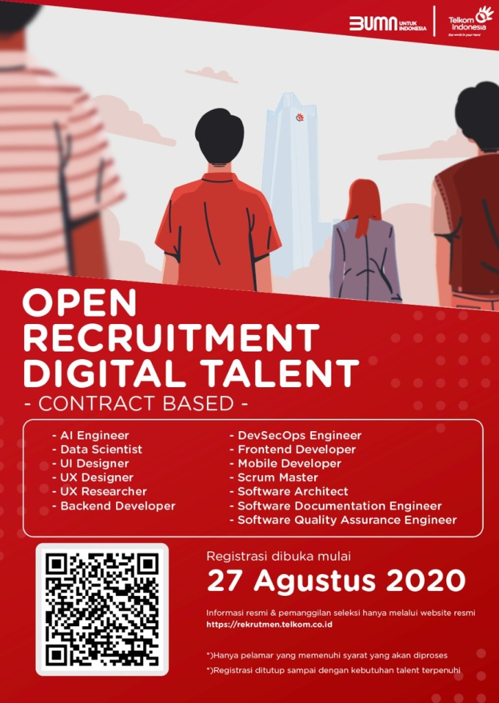 Open Recruitment Digital Talent Telkom Indonesia