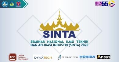 Dosen Teknik Informatika Mengikuti Seminar Nasional Hasil Penelitian Sains, Teknik dan Aplikasi Industri (SINTA 2020)