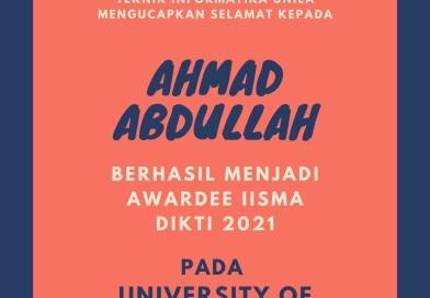 Mahasiswa PSTI Unila Lulus Pada Program Indonesian International Student Mobility Awards (IISMA) 2021